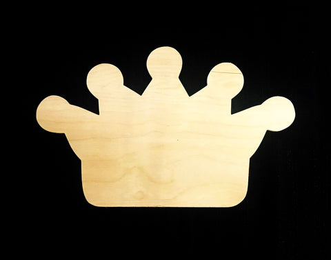 Zeta Tau Alpha Crown Board Shape
