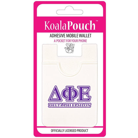 Delta Phi Epsilon Cell Phone Pouch