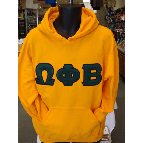 Omega Phi Beta Hooded Sweatshirt