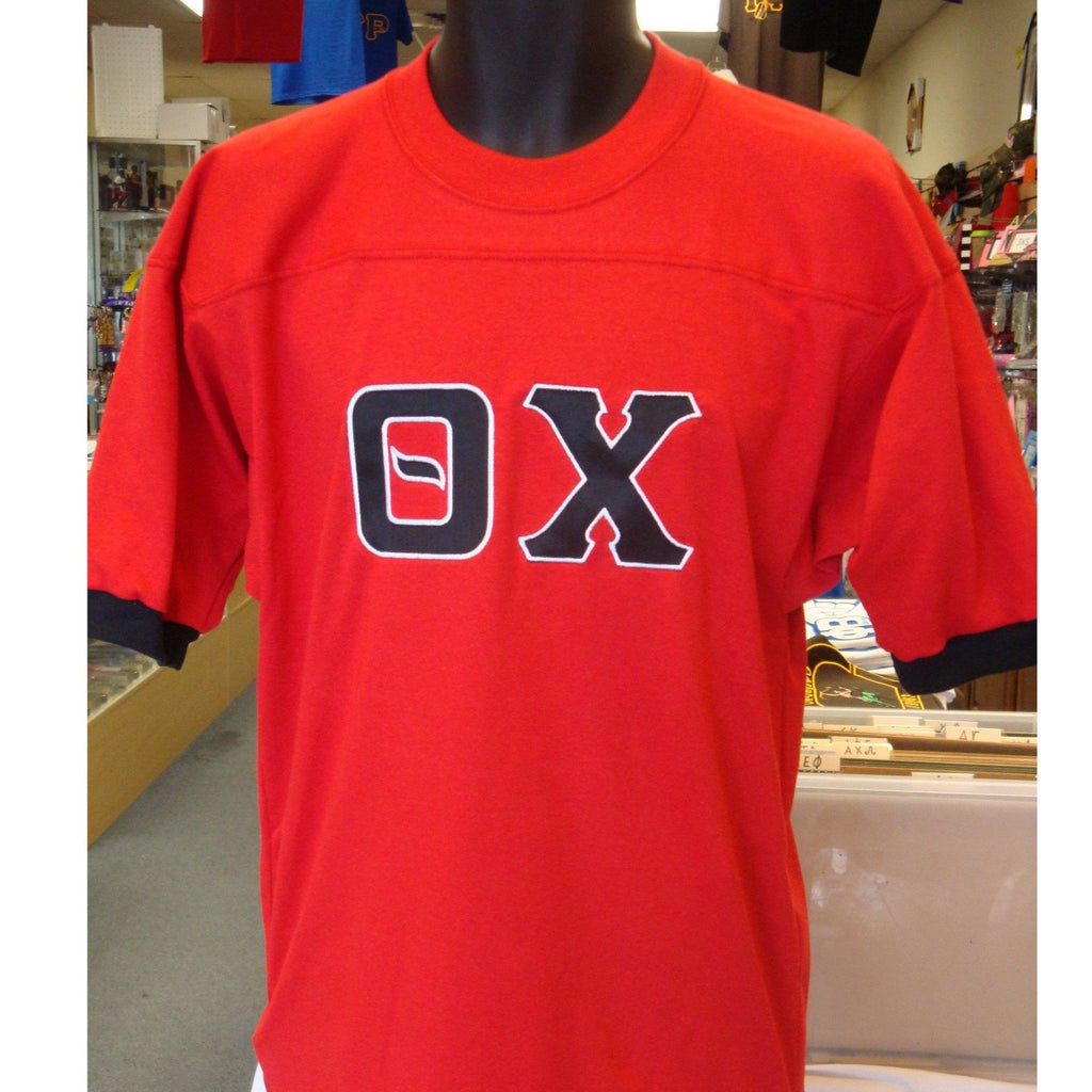 Theta Chi Red Fraternity Jersey