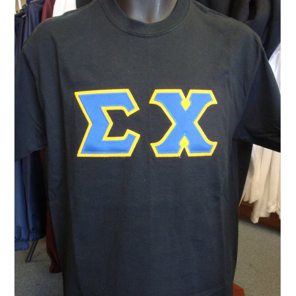 Sigma Chi Greek Lettered Tee