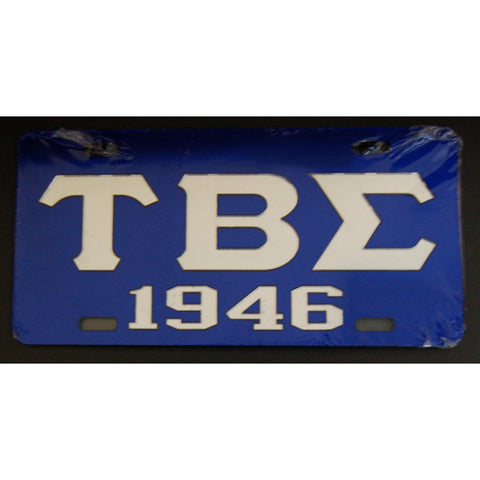 Tau Beta Sigma License Tag