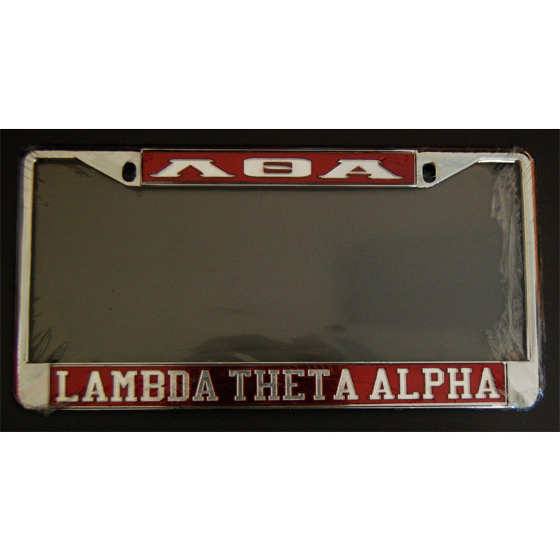 Lambda Theta Alpha Car License Frame – Greek Divine and More