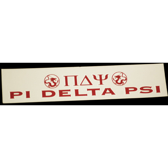 Pi Delta Psi Bumper Sticker Decal