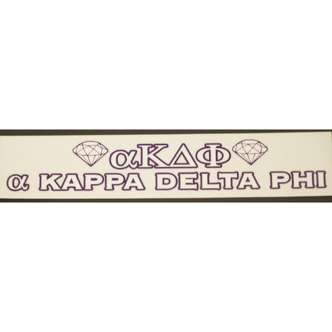 Alpha Kappa Delta Phi Bumper Sticker Decal