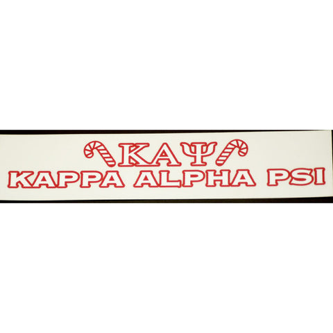 Kappa Alpha Psi Bumper Sticker Decal