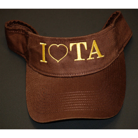 Iota Sweethearts Fashion Cap Visor