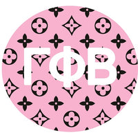 Gamma Phi Beta Printed Button Collection 2020