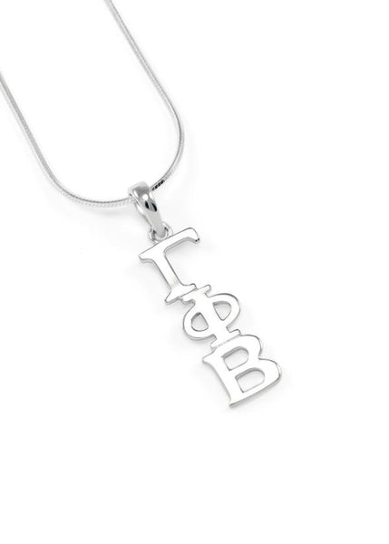 Gamma Phi Beta Sterling Silver Lavaliere