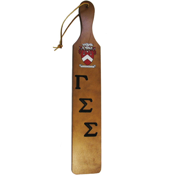 Gamma Sigma Sigma Founder's Paddle