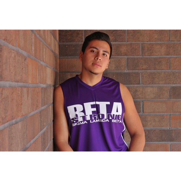 Sigma Lambda Beta Basketball Jersey