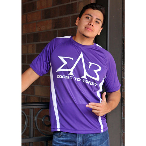 Sigma Lambda Beta Coast to Coast Dry-Fit Tee