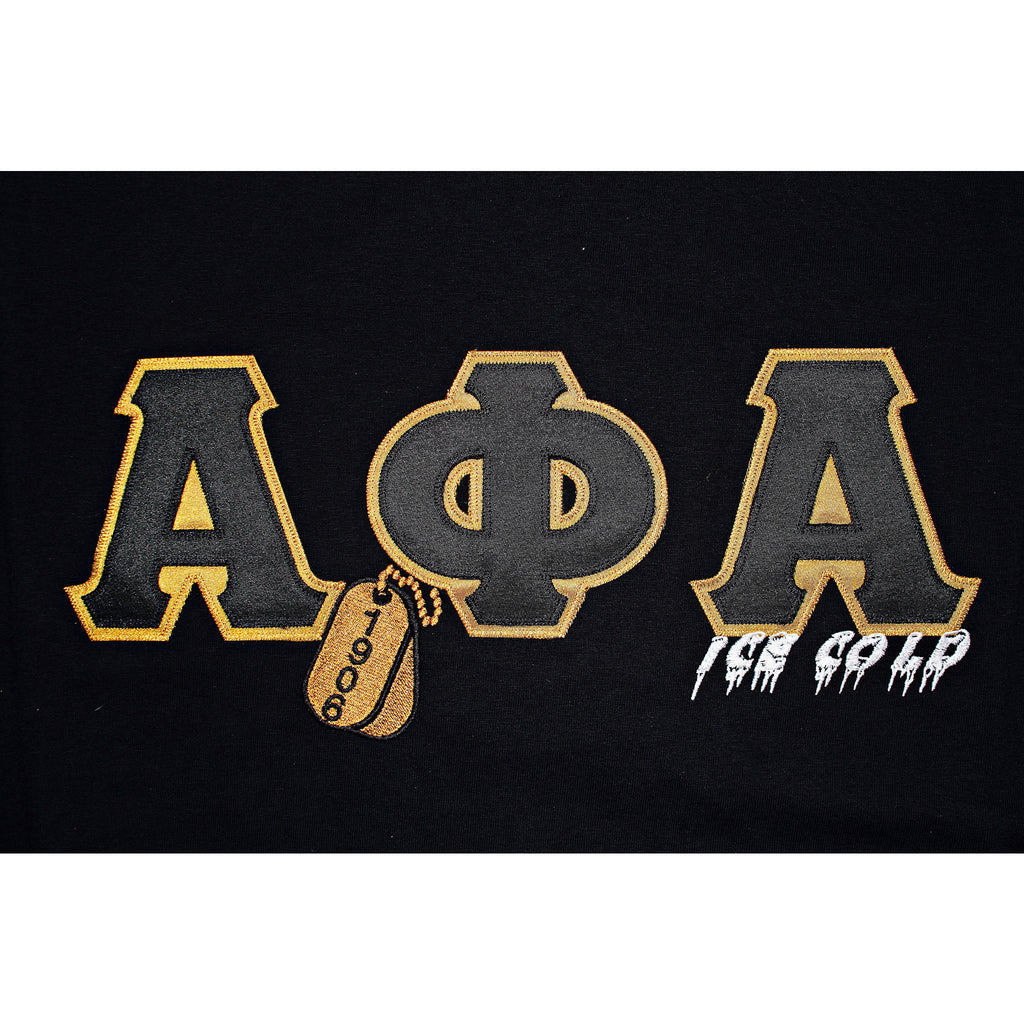 Alpha Phi Alpha Embroidered DT Tee