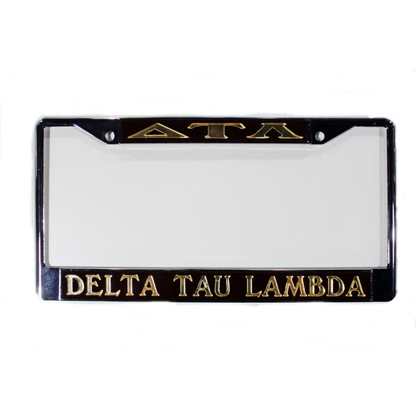Delta Tau Lambda License Frame