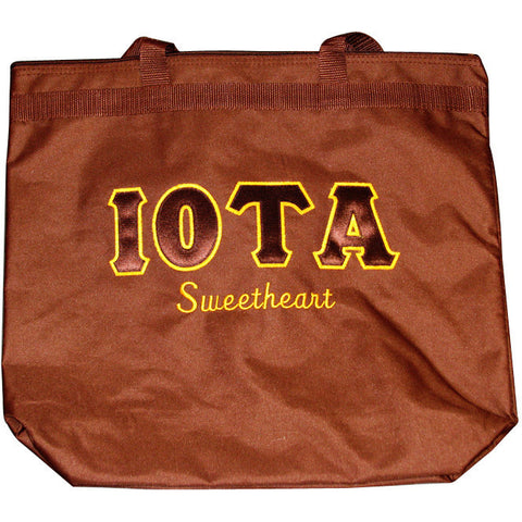 Iota Sweethearts Large Tote Bag