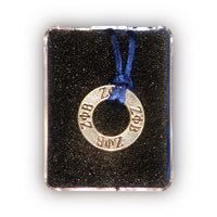 Zeta Phi Beta Small Medallion