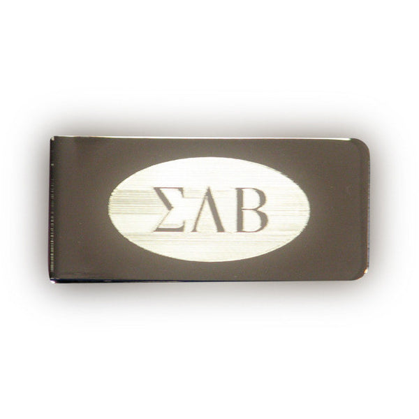 Sigma Lambda Beta Money Clip