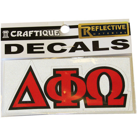 Delta Phi Omega Decal