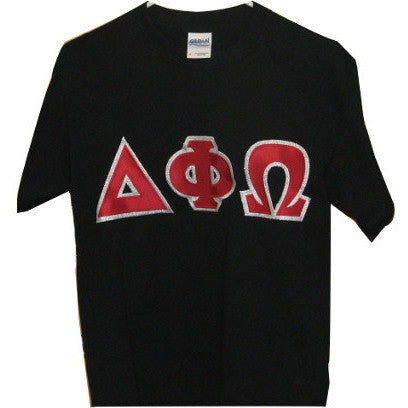 Delta Phi Omega Embroidered Tee