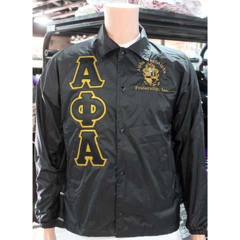 Alpha Phi Alpha Crossing Jacket w/ Crest
