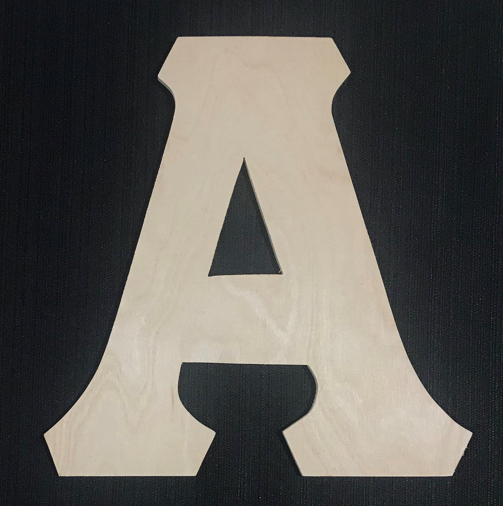 "10"" Letter A/Alpha"
