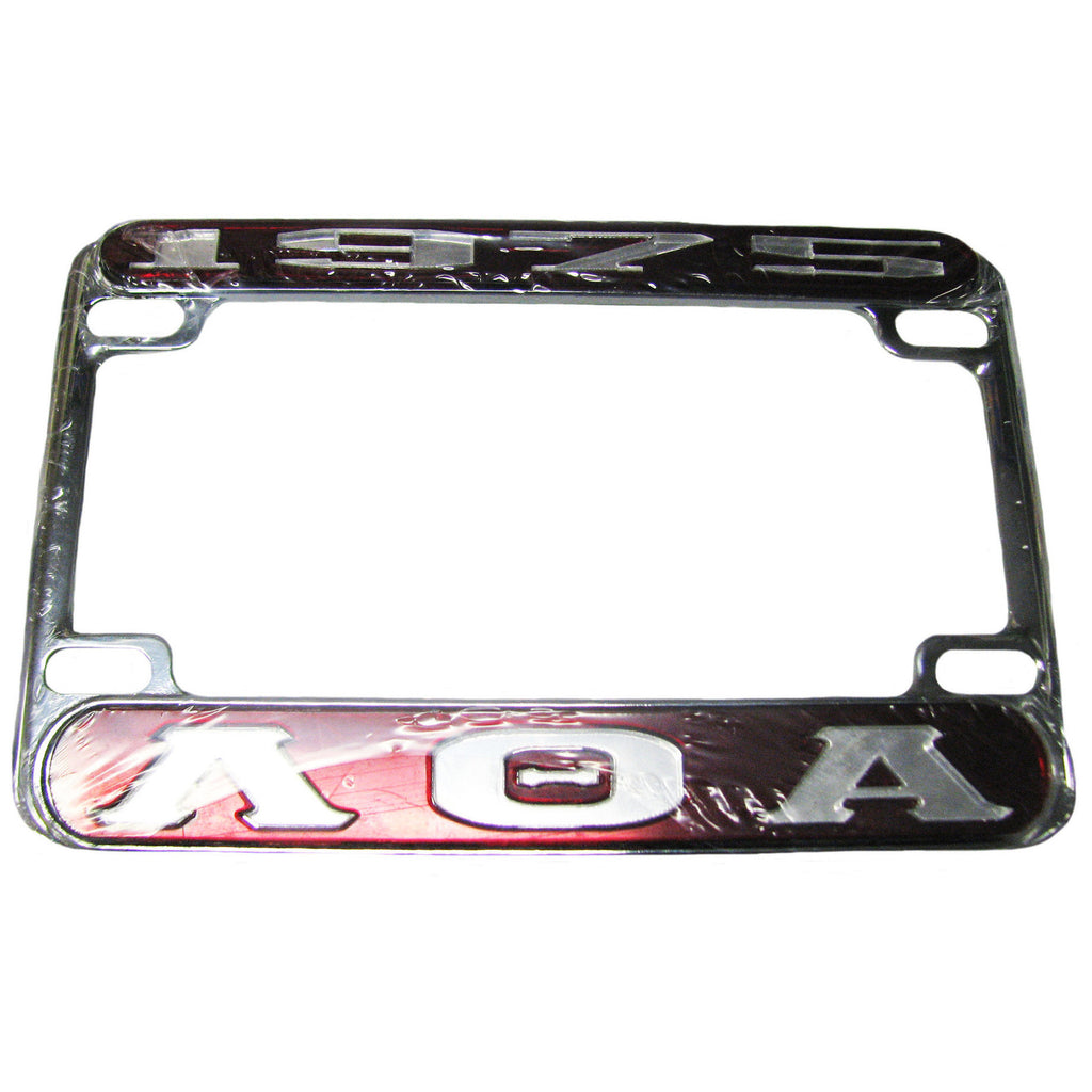Lambda Theta Alpha Scooter License Frame