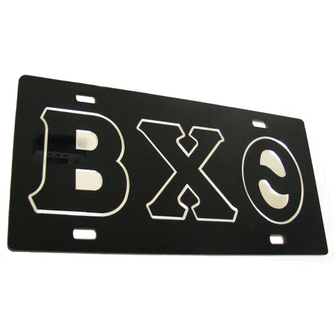 Beta Chi Theta Car License Tag