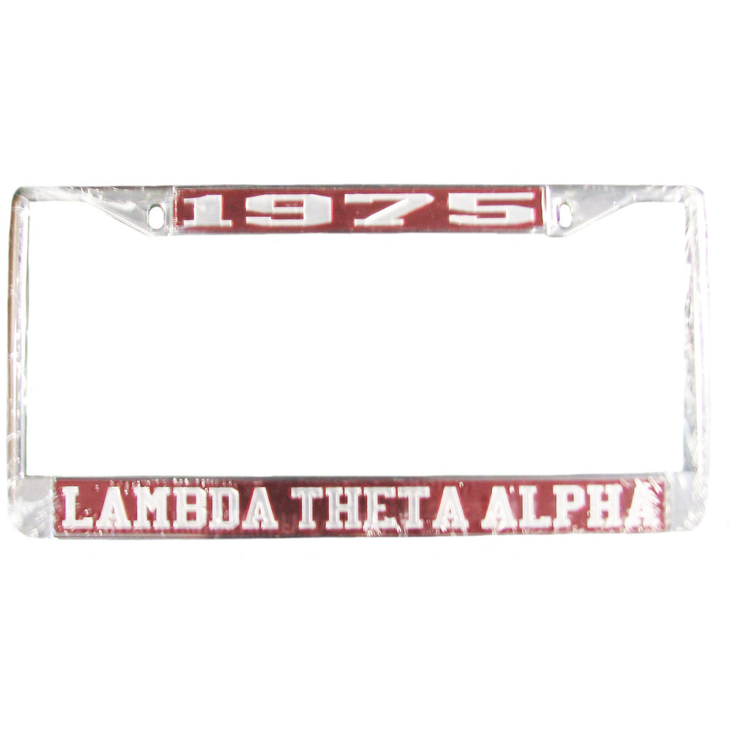 Lambda Theta Alpha License Frame