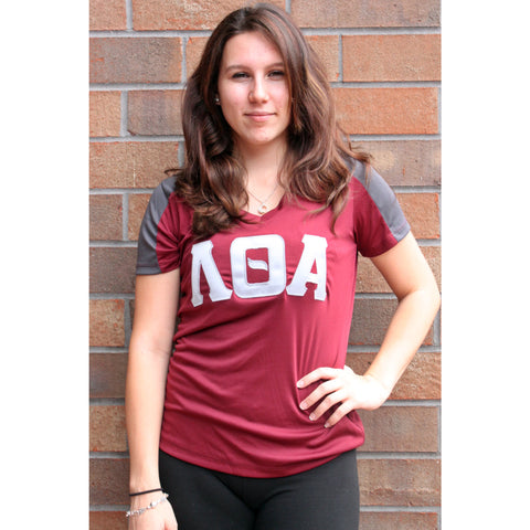Lambda Theta Alpha Dry-Fit V-Neck