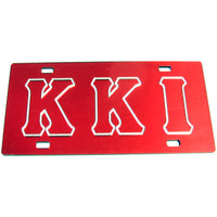Krimson Kourts, Inc. License Tag