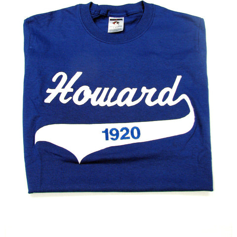 "Zeta Phi Beta ""Howard"" Embroidered Tee"