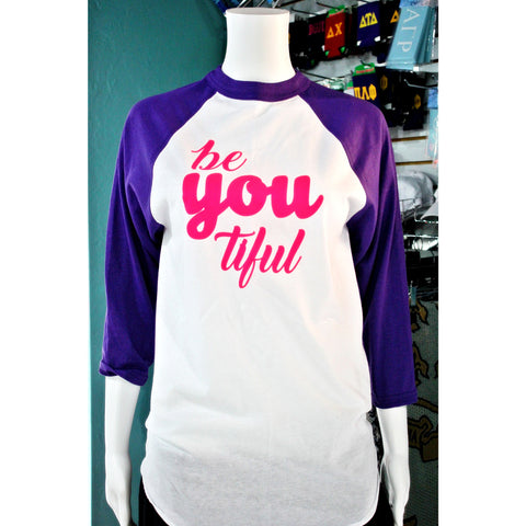 BeYOUtiful Baseball Tee