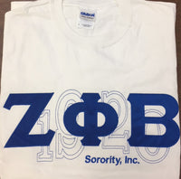 Zeta Phi Beta Sorority, Inc. Tee