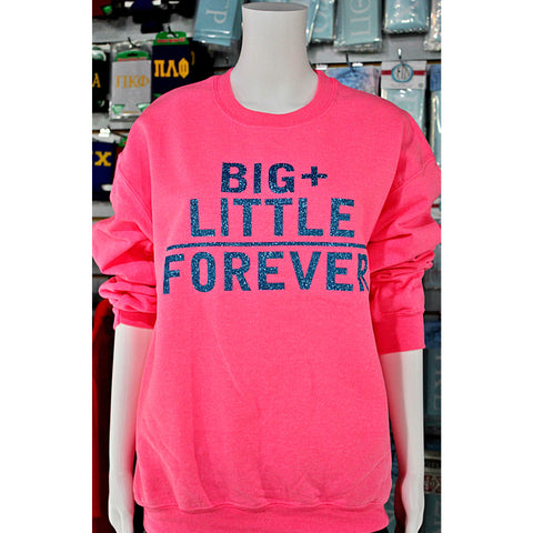 Big+Little=Forever Crew neck Sweater