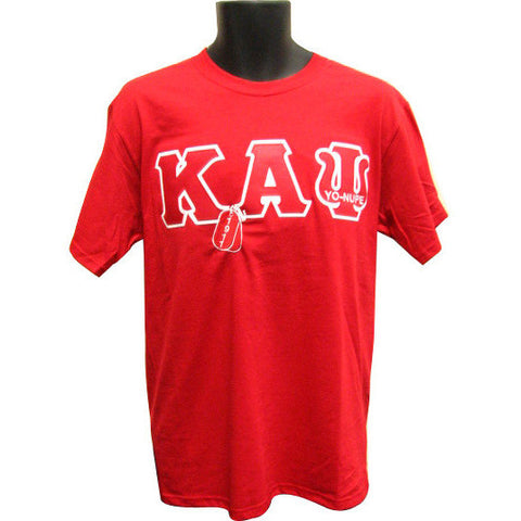 Kappa Alpha Psi Embroidered DT Tee