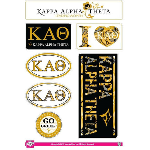 Kappa Alpha Theta Lifestyle Stickers