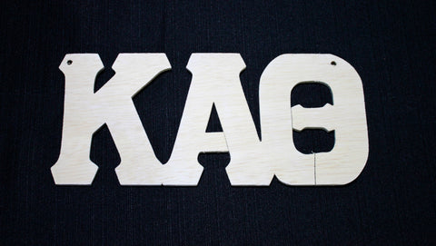 Kappa Alpha Theta Wood Door Deck