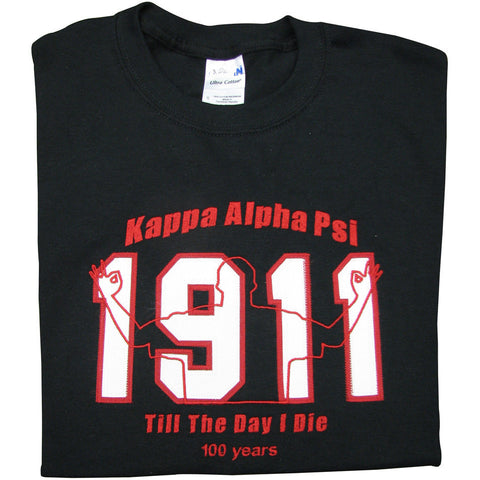 Kappa Alpha Psi 100 Year Embroidered Tee