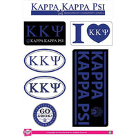 Kappa Kappa Psi Lifestyle Sticker Sheet