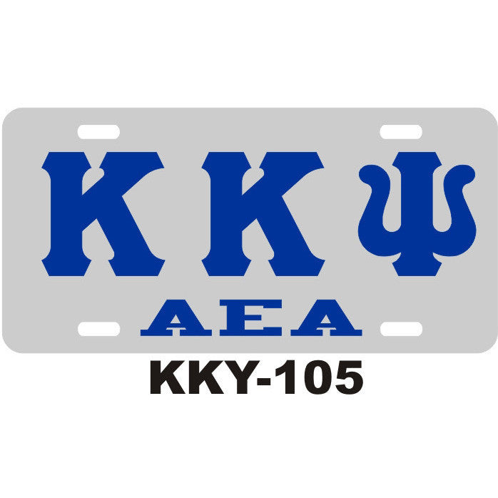 Kappa Kappa Psi License Tag 5