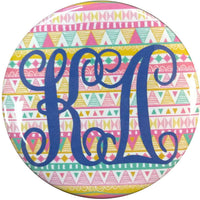 Kappa Delta Tribal Printed Button