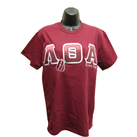 Lambda Theta Alpha Embroidered DT Tee