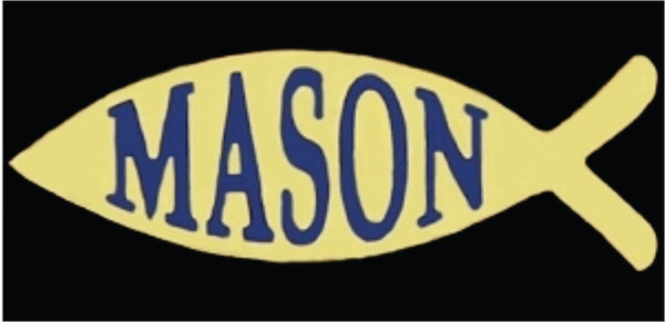 Masons Fish Pin