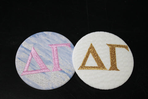 Delta Gamma Game Day Button