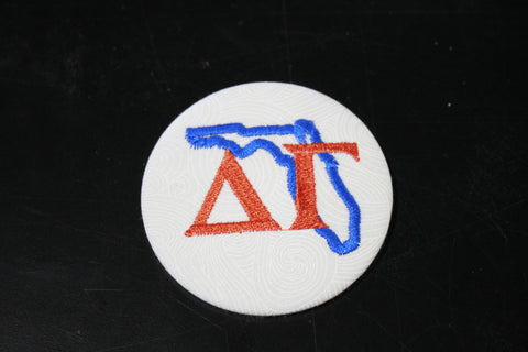 Delta Gamma Florida Outline Game Day Button