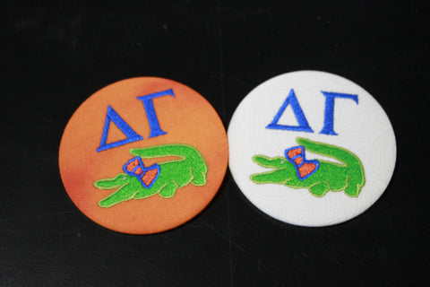 Delta Gamma Gator Game Day Button