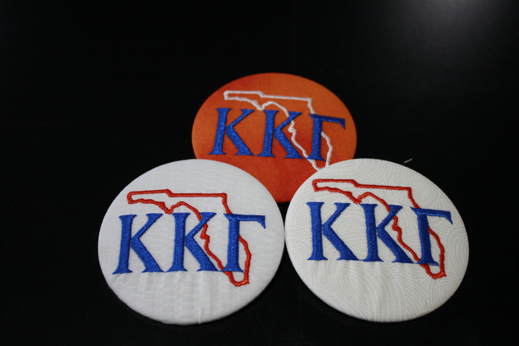 f2872efd Kappa Kappa Gamma Florida Outline Game Day Button – Greek Divine and More
