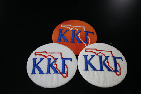 Kappa Kappa Gamma Florida Outline Game Day Button