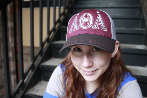 Lambda Theta Alpha 3-layer Hat