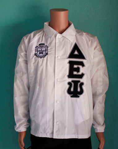 Delta Epsilon Psi Crossing Jacket w/ Crest